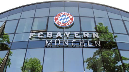 office of soccer team FCBayern Munich